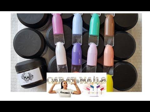 Summer Spring Collection   Sharp Fantastic Nails   12 Farben   Carat Nails