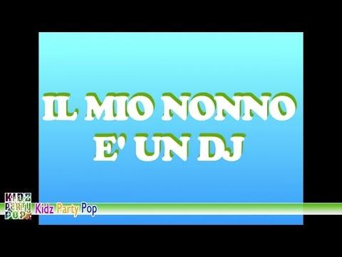 Il mio nonno è un DJ | Video animato | Canzoni per bambini