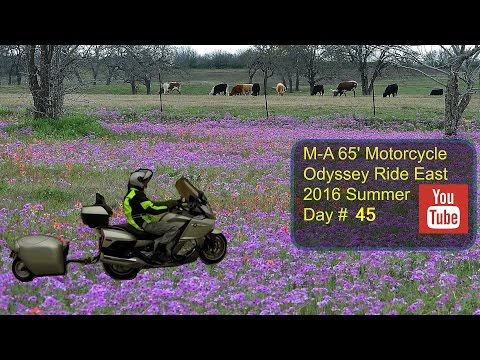 Day#45 Friday  July 29 2016 Oklahoma City to Fort Worth