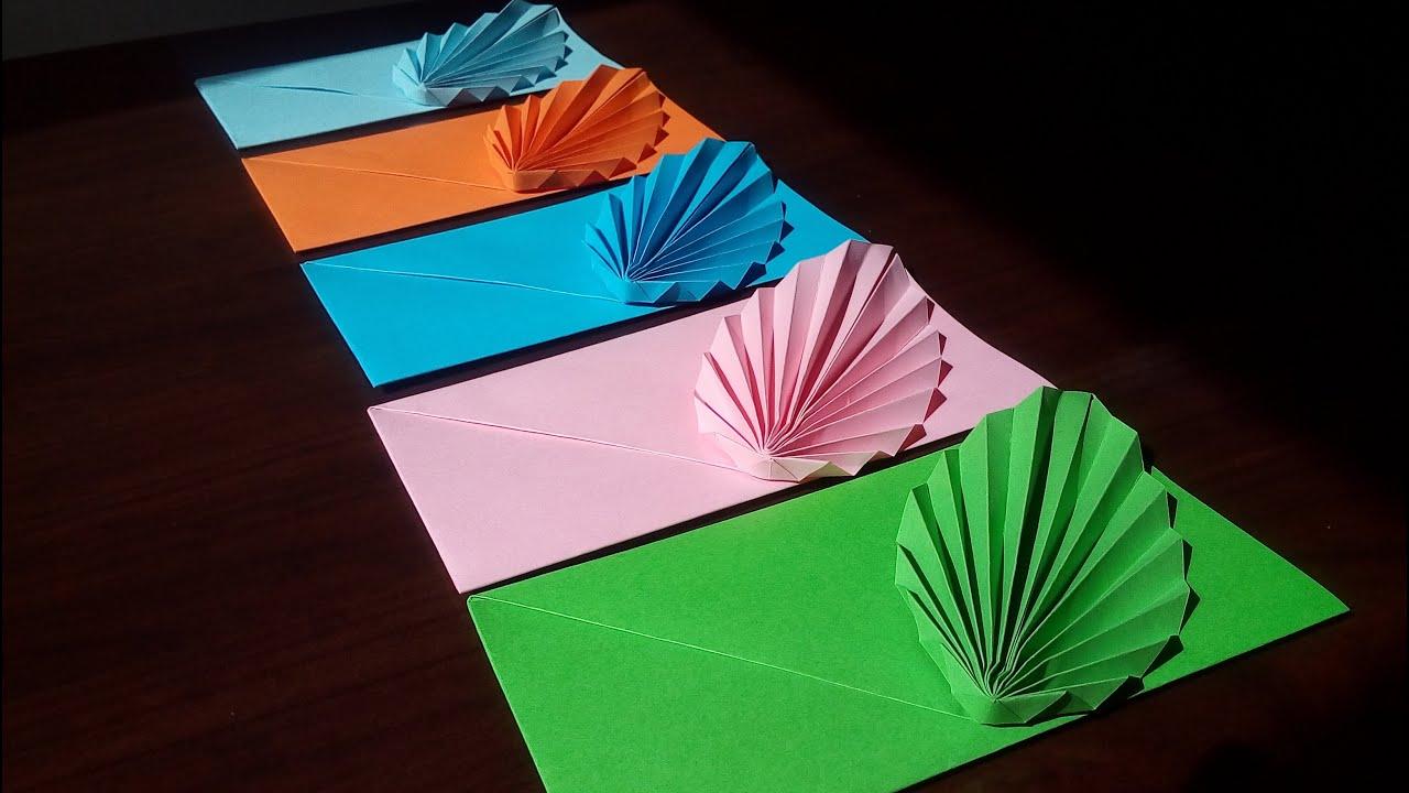 Sobre elegante / Invitación - Origami
