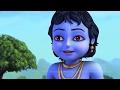 Little Krishna - Brave Warrior (Hindi) | Cartoon Movie