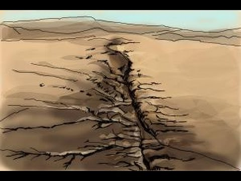 How to draw the San Andreas Fault - YouTube