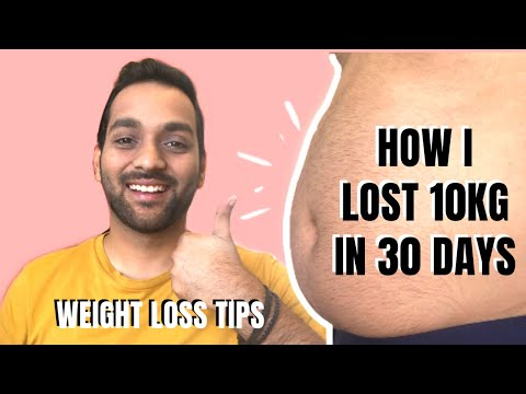 HOW I LOST 10 KG IN 30 DAYS | Weight Loss Tips in Hindi | MY WEIGHT LOSS JOURNEY | ANKIT TV