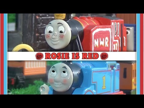 Rosie Is Red - Thomas Avoids Rosie - Adventures Scene Remake.