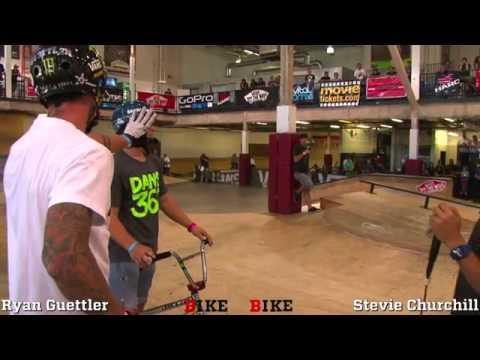 2011 Vital BMX Game of BIKE Ryan Guettler vs Stevie Churchill Round 1   BMX Videos   Vital BMX