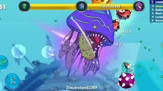 Legendary jelly fish (eat me io)