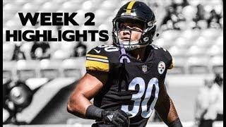 James Connor Preseason Week 2 Highlights || Pittsburgh Steelers ᴴᴰ