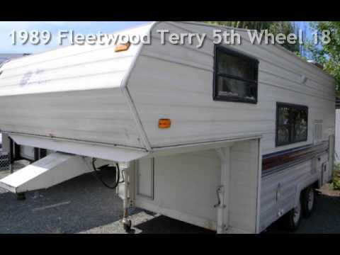 1989 Fleetwood Terry 5th Wheel 18 5s For Sale In Medford