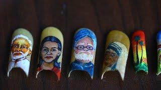 Artist Paints Stunning Portraits On His Fingernails: MAKING MAD