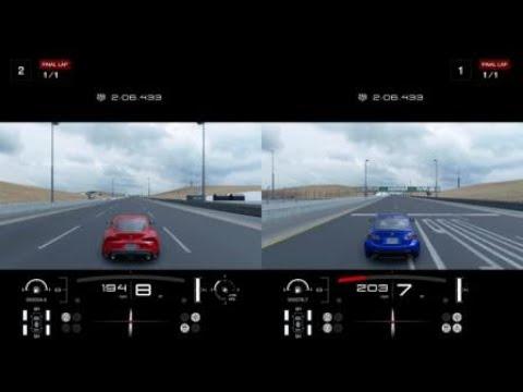 Gran Turismo®SPORT 2020 toyota Supra vs Lexus RC F 0 to 60 & top speed