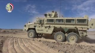بالفيديو| تدريبات الجيشين المصري والأردني في