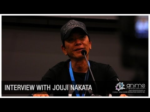 [ANIREVO SUMMER 2012] Nakata Jouji Exclusive Interview
