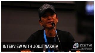 [ANIREVO SUMMER 2012] Nakata Jouji Exclusive Interview
