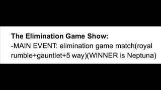 Special show: The Elimination Game