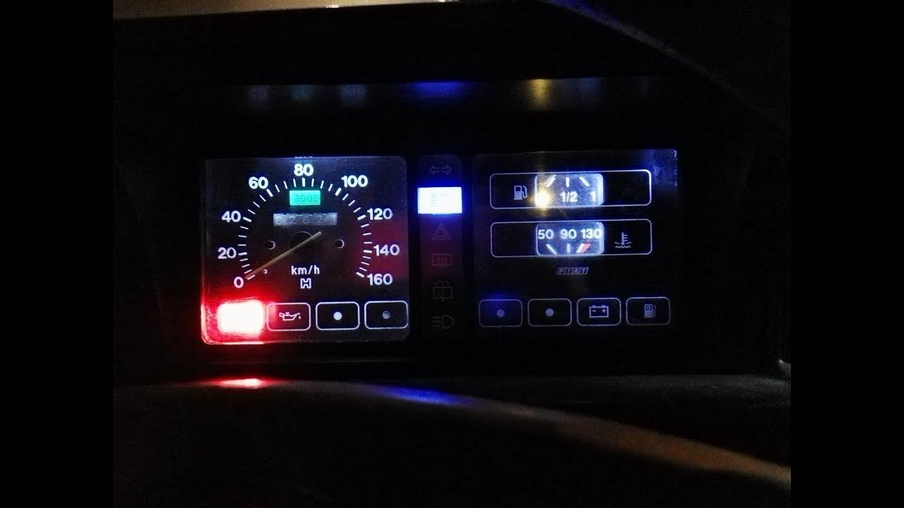Instalacion Luces Led Tablero Fiat 147 Primer Parte Desarme