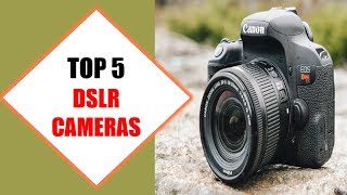 Top 5 Best DSLR Cameras 2018 | Best DSLR Camera Review By Jumpy Express
