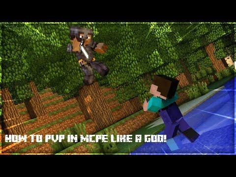 How to PvP on MCPE like a GOD!