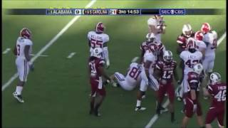 2010 #1 Alabama vs. #19 South Carolina Highlights