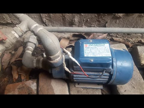 water motor  pump running using solar power system 600 watt.(Urdu)