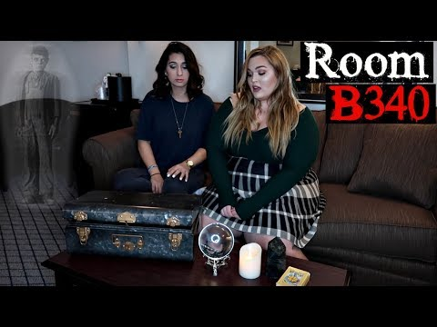 MOST HAUNTED Hotel Room in the World... Queen Mary Haunted Ship (B340)