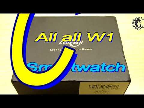 AllCall W1 Smartwatch /Bluetooth Call/AnTuTu Benchmark/WiiWatch