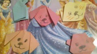 Мой фигурки из бумаги)Учимся делать из бумаги собачку)(Всем Приятнова Просмотра), 2015-10-19T15:59:24.000Z)