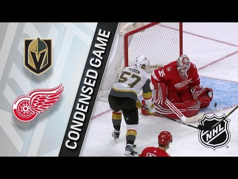 Vegas Golden Knights vs Detroit Red Wings – Mar. 08, 2018 | Game Highlights | NHL 2017/18. Обзор