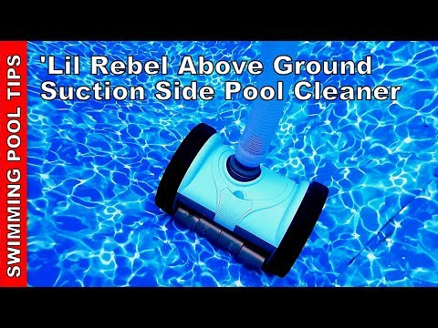 """Pentair 'Lil Rebel Above Ground Pool Cleaner Review -  A """"Real"""" Suction Side Cleaner for under $190!"""