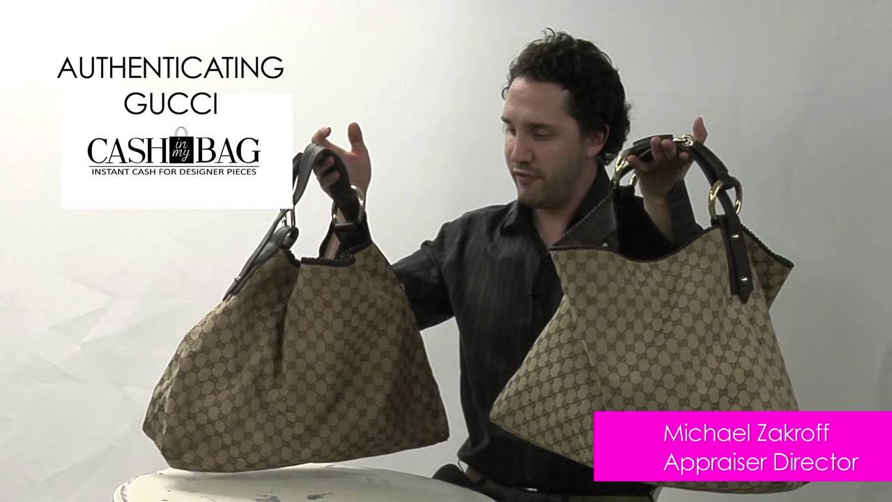 8da9c9fa4e68ef How to Spot a Fake Gucci Handbag - YouTube