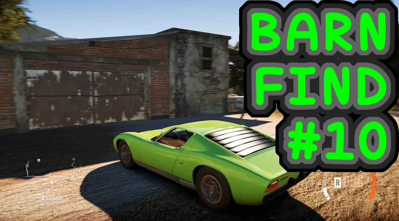 Barn Find 10 Forza Horizon 2