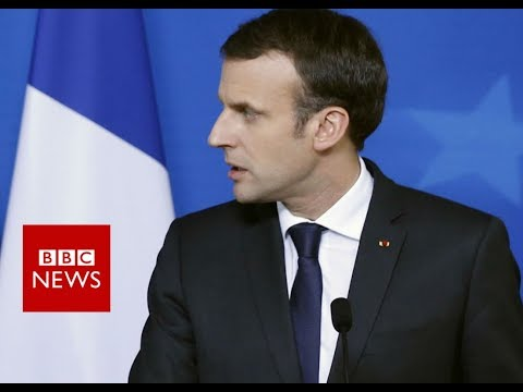 French President Macron on France hostage crisis- BBC Information