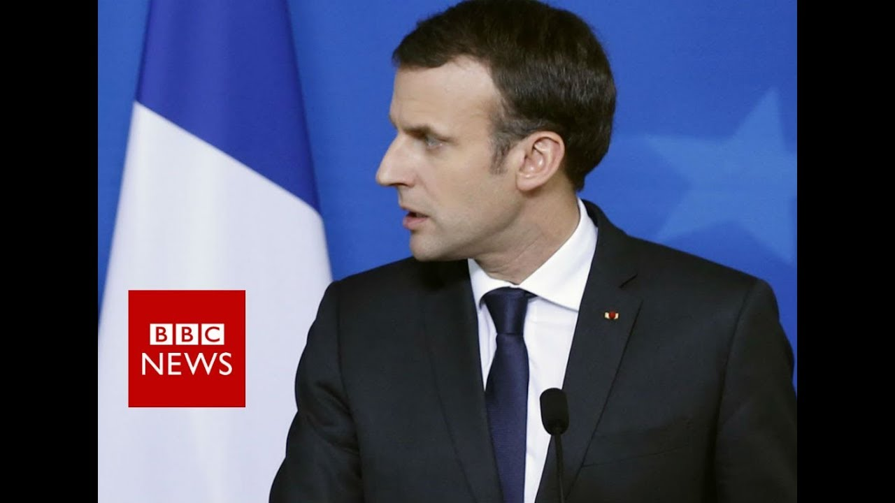 French President Macron On France Hostage Crisis Bbc News Youtube