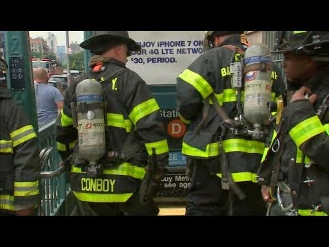 Thumbnail: New York City subway riders evacuated from 4 trains after emergency brake incident