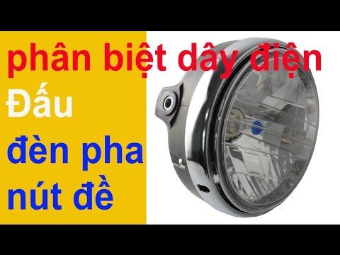 hướnng dẫn đấu dây đèn pha chính và nút đề  xe honda cub   shop cửa hàng phụ tùng rin xe cub 78,79,8