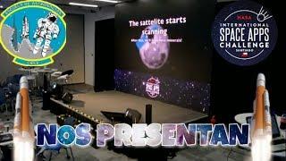 Así fue nuestra PRESENTACIÓN en NASA International Space Apps Challenge Santiago.