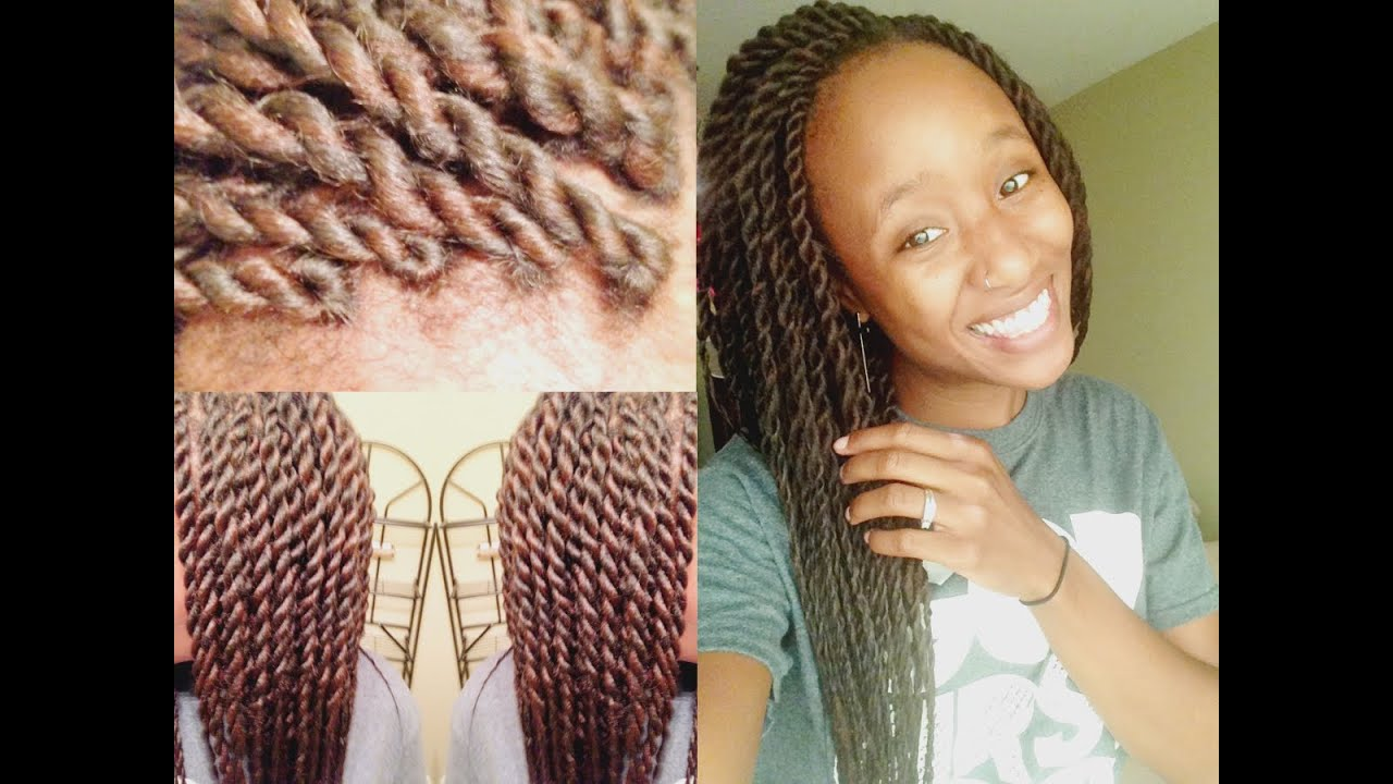 Large Senegalese Twists Tutorial Invisible Method Marley Havana You