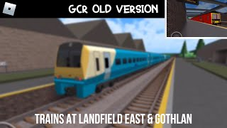ROBLOX | Trains At Landfield East & Gothlan (13/11/18)