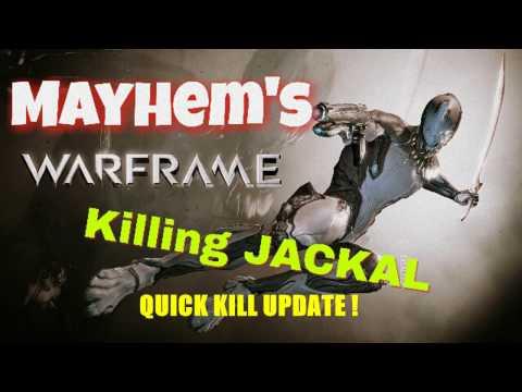 WARFRAME - How to kill Jackal fast (Fossa boss) - Quick solo kill update