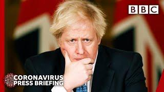 Boris Johnson explains Covid-19 vaccine rollout plan 🔴 Covid update @BBC News live - BBC