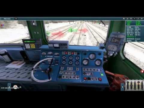 2ТЭ10М запуск двигателя в trainz simulator 12 [1/2]