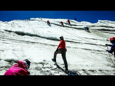 HMI Basic Mountaineering Course - Part-8 - Glacier Training, Jumaring, Self Arrest