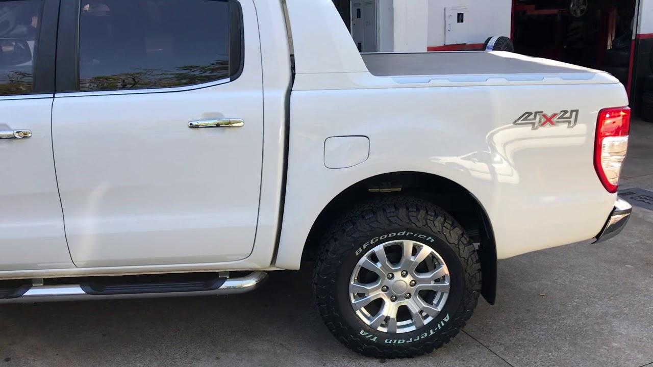 Ford Ranger Com Pneu Bf Goodrich 265 70 18 Youtube