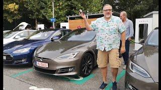 Spontanes Treffen mit Ove von T&T Tesla