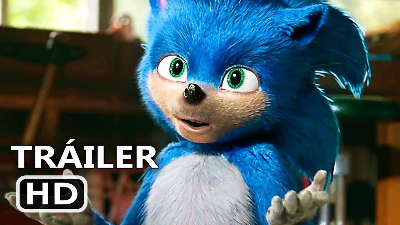 Sonic La Película Tráiler Español Doblado Jim Carrey