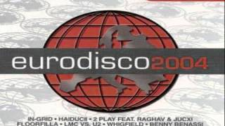 7.- 2 PLAY FEAT. RAGHAV & JUCXI - Turn Me On (EURODISCO 2004) CD-1