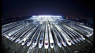 видео: Как Китай за 10 лет построил самую большую сеть железных дорог в мире