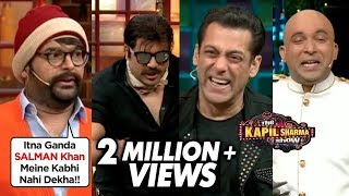 Krushna As Jackie Shroff COMEDY With Kapil, Salman, Sonakshi Dabangg 3 Team | The Kapil Sharma Show