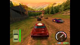 Demolition Racer: No Exit - Gameplay Dreamcast HD 720P