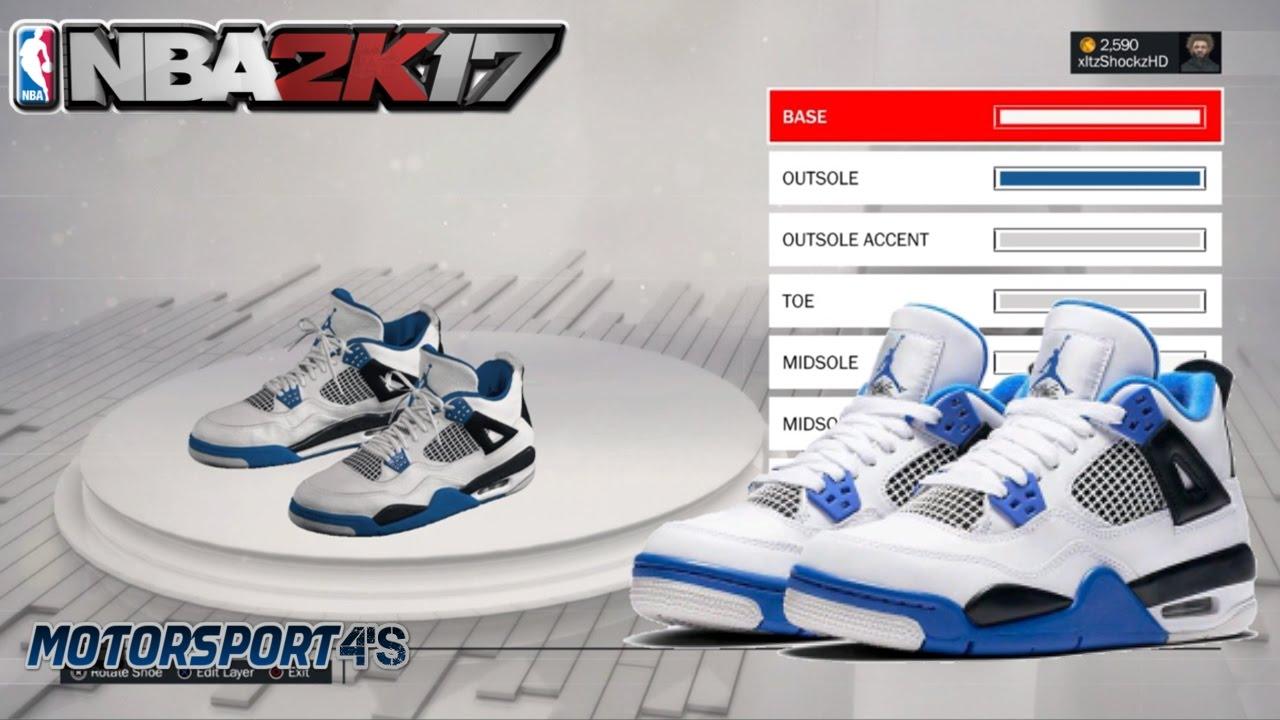 info for 50820 9c4a3 NBA 2K17 Shoe Creator | Jordan 4