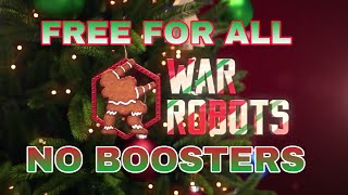 War Robots - Free For All - No Boosters